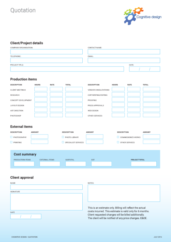 Example of formstyle.com proprietary form design typesetting system